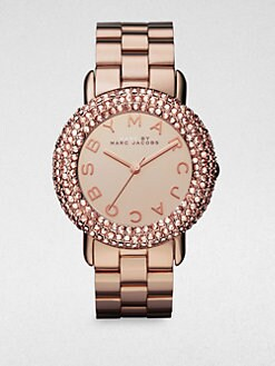 Marc by Marc Jacobs - Crystal & Rose Goldone Stainless Steel Watch