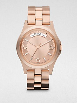 Marc by Marc Jacobs - Brushed and Polished Bracelet Watch