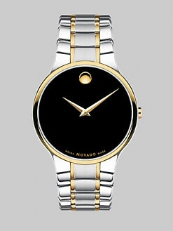 Movado - Serio Two-Tone Stainless Steel Watch