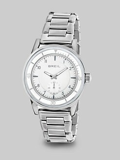 Breil - Stainless Steel Multi-Function Watch