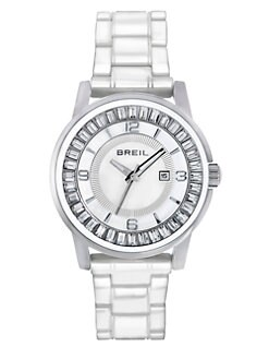 Breil - Swarovski Crystal & Stainless Steel Watch