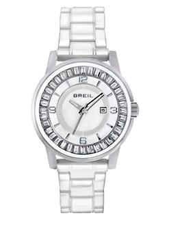 Breil - Swarovski Crystal & Stainless Steel Watch