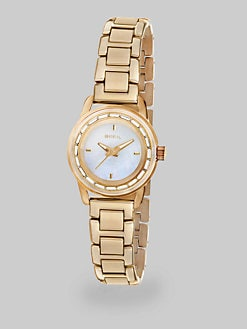 Breil - Swarovski Crystal & Goldtone IP Stainless Steel Watch