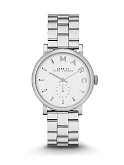 Marc by Marc Jacobs - Baker Stainless Steel Bracelet Watch