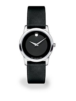 Movado - Stainless Steel Museum Classic Watch