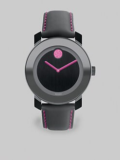 Movado - Stainless Steel Bold Watch/Pink