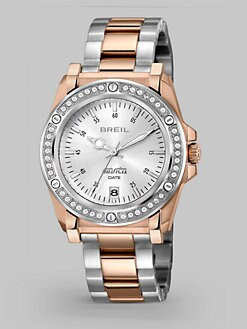 Breil - Lady Rose IP Stainless Steel Bracelet Watch