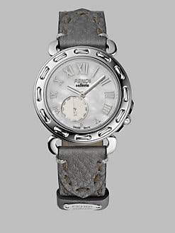 Fendi - Selleria Stainless Steel Strap Watch