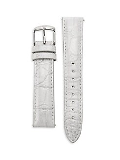 Michele Watches - 18mm Alligator Strap