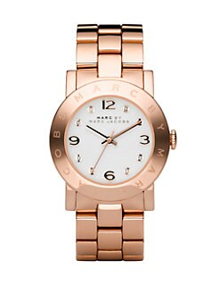 Marc by Marc Jacobs - Rose Gold Finished Stainless Steel Bracelet Watch