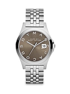Marc by Marc Jacobs - Henry Slim Stainless Steel Bracelet Watch/Grey
