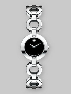 Movado - Belamoda Stainless Steel Bracelet Watch