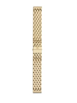 Michele Watches - 18MM 18K Goldplated Stainless Steel Watch Strap