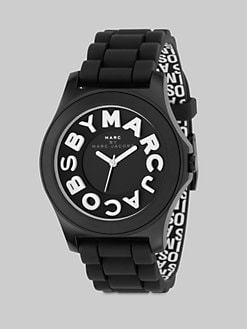 Marc by Marc Jacobs - Sloane Logo Strap Watch