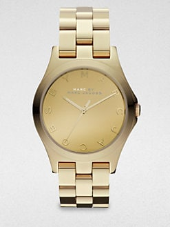 Marc by Marc Jacobs - Henry Gold-Finished Stainless Steel Bracelet Watch