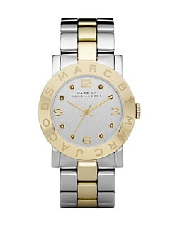 Marc by Marc Jacobs - Crystal Accented Two-Tone Stainless Steel Watch
