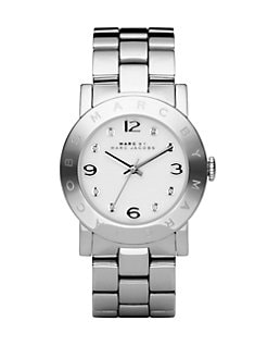 Marc by Marc Jacobs - Amy Link Bracelet Watch/Silver