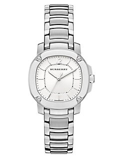Burberry Britain - Stainless Steel Octagonal Watch