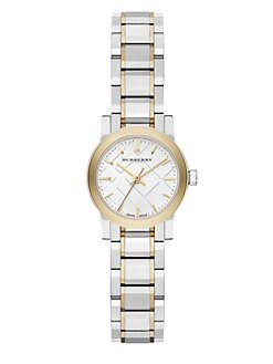 Burberry - Two-Tone Stainless Steel Watch/26MM