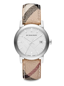 Burberry - Stainless Steel Round Watch/38MM