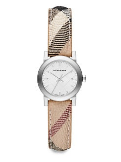 Burberry - Stainless Steel Round Watch/26MM