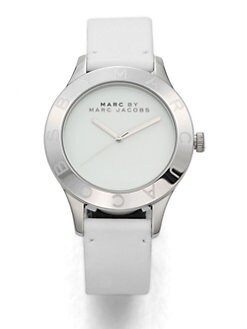 Marc by Marc Jacobs - Stainless Steel & Leather Watch
