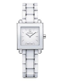 Fendi - Ceramic & Stainless Steel Watch