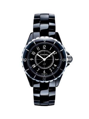 J12 Ceramic & Stainless Steel Bracelet Watch