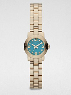 Marc by Marc Jacobs - Goldtone Stainless Steel & Crystal Watch