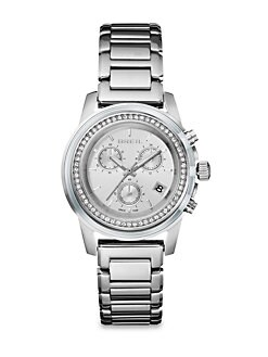 Breil - Swarovski Crystal & Stainless Steel Chronograph Watch
