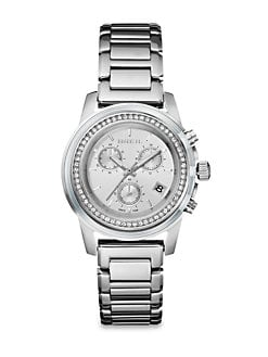 Breil - Swarovski Crystal & Stainless Steel Chronograph Watch