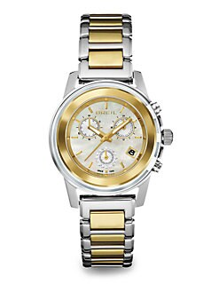 Breil - Two-Tone Stainless Steel Chronograph Watch