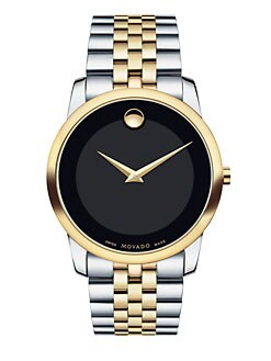 Movado - Two-Tone Stainless Steel Bracelet Watch