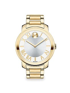 Movado Bold - Two-Tone IP Stainless Steel Watch/Goldtone