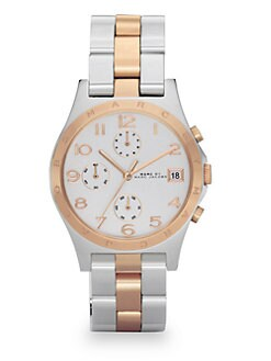 Marc by Marc Jacobs - Henry Two-Tone Bracelet Watch
