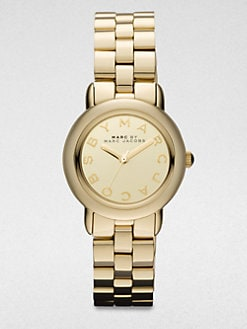 Marc by Marc Jacobs - Goldtone Stainless Steel Watch