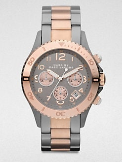 Marc by Marc Jacobs - Two-Tone Stainless Steel Chronograph Watch