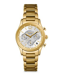 Breil - Stainless Steel & Goldplated Chronograph Bracelet Watch