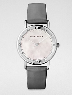Georg Jensen - Diamond Stainless Steel Watch