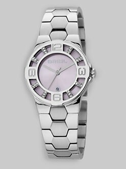 Breil - Grid Stainless Steel Bracelet Watch