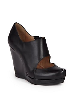 5/48 - Salome Wedge Ankle Boots/Black
