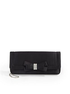 BLACK Saks Fifth Avenue - Lauren Bow Clutch