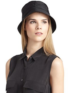 BLACK Saks Fifth Avenue - Waterproof Bucket Hat