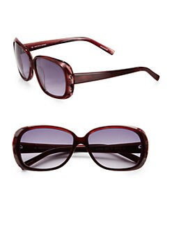 BLACK Saks Fifth Avenue - Randi's Plastic Rounded Rectangle Sunglasses