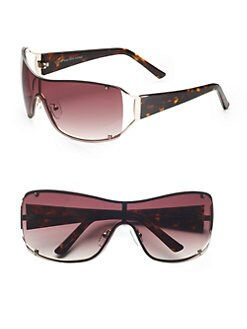 BLACK Saks Fifth Avenue - Christine's Sunglasses/Brown