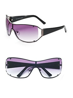 BLACK Saks Fifth Avenue - Christine's Sunglasses/Black