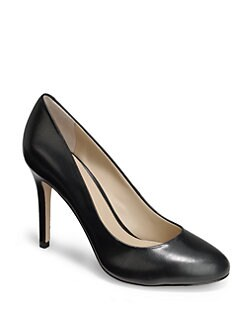 BLACK Saks Fifth Avenue - Bellinda Leather Pumps
