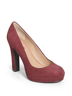 5/48 - Olivia Suede Pumps