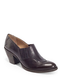5/48 - Dakota Leather Short Ankle Boots