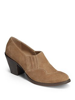5/48 - Dakota Suede Short Ankle Boots